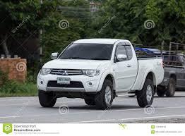 100 Mitsubishi Pickup Truck Private Car Triton Editorial Stock Photo