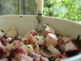 cuisiner poulpe frais la salade de poulpe recette ptitchef