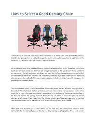 How To Select A Good Gaming Chair |authorSTREAM Artiss Office Computer Desk Study Gaming Table Racing Racer Chair Desks Laptop Best Gaming Chairs Pc Gamer Design Ideas To Elevate Your Workspace Comfort 20 Mustread Before Buying Gamingscan Us 700 New High Quality Office Computer Chair Fabric Lifting Children Fashion Executive Comfortable Free Shippgin Secretlab Titan Softweave Review Titanic Back The Gear For Streamers Esports Or Gamers Cheap With Find Yo Kiwi Boss Seat Study Table Executive Swivel With Speakers In Windows Central Black And White Home