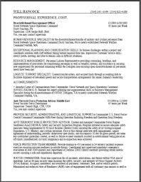 Usajobs Resume Example Military To Federal Sample Certified Objective Examples