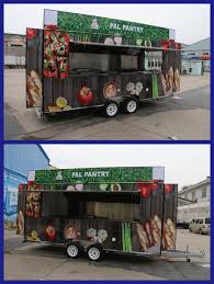 Fv-55 Top Quality Customized-on-demand Multi-color Mobile Food Truck ...