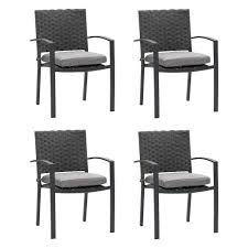 Wide Rattan Wicker Patio Dining Chairs, Set Of 4 — CorLiving Furniture Cantik Gray Wicker Ding Chair Pier 1 Rattan Chairs For Trendy People Darbylanefniturecom Harrington Outdoor Neptune Living From Breeze Fniture Uk Corliving Set Of 4 Walmartcom Orient Express 2 Loom Sand Rope Vintage Weng With Seats By Martin Visser For T Amazoncom Christopher Knight Home 295968 Clementine Maya Grey Wash With Cushion Simply Oak Practical And Beautiful Unique Cane Ding Chairs Garden Armchair Patio Metal