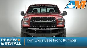 100 Iron Cross Truck Bumpers 20152017 Ford F150 Base Front Bumper Review Install