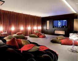 Small Home Theater Room Ideas Red Seats Green Cushions Wall ... In Home Movie Theater Google Search Home Theater Projector Room Movie Seating Small Decoration Ideas Amazing Design Media Designs Creative Small Home Theater Room Interior Modern Bar Very Nice Gallery Simple Theatre Rooms Arstic Color Decor Best Unique Myfavoriteadachecom Some Small Patching Lamps On The Ceiling And Large Screen Beige With Two Level Family Kitchen Living