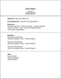 Resume No Work Experience Yahoo Answers