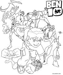 Ben 10 Coloring Pages 18 Printable Ten For Kids