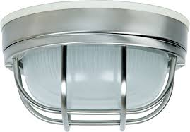 craftmade z394 56 bulkhead stainless steel outdoor small ceiling