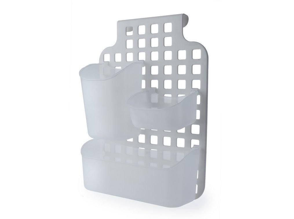 Blue Canyon Plastic Bathroom Cabinet Shower Caddy Over Door Storage Organiser