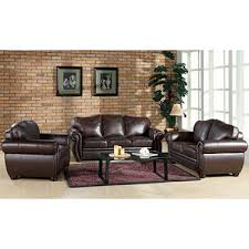 sophie top grain leather sofa loveseat and armchair set sam s club