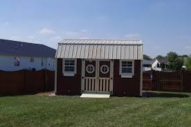 Amish Built Storage Sheds Illinois lofted garden barn u003e portable buildings storage sheds tiny houses