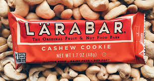 Amazon Has The Larabar Cashew Cookie 16ct On Sale For 936