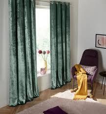 my home vorhang velvet samt uni