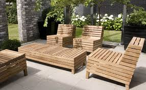 How To Care Modern Teak Outdoor Furniture Bistrodre Porch And