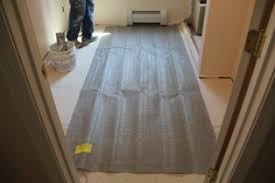 nuheat radiant floor heating a concord carpenter