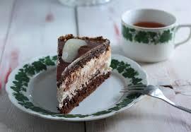 birne helene torte eine traumhafte sahnecremetorte