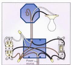 wiring a new light fixture and switch wiring a light fixture