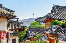 100 South Korea Houses Awesome View Of Black Tile Roofs Of Traditional N Houses