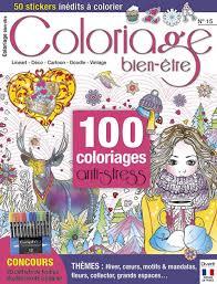 Magazine Coloriages Dessins Détente Mandalas Antistress