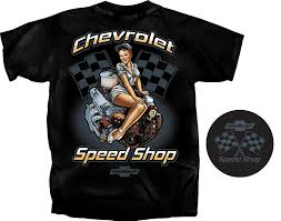 Gildan Men's Chevrolet Speed Shop Pin-up Girl T-Shirt | Amazon.com North River Apparel Car Shirts And Stuff News Tagged 1950 Chevy Truck Shirt Killfab Clothing Co Category Chevrolet Tshirts Dale Enhardt Store 1946 Chevy Truck T Labzada Shirt Colorado Road Warrior Mens Dark Tshirt Best Womens Tuckn Hot Rod Classic Custom Vintage Ratrod Ford Mopar Gasser Girl Lauren Goss Patriotic American Lifestyle Apparel Made In The Usa Live Hossrodscom Weathered Bowtie Girls Youth