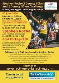100 Roche2 Cycling Ireland Stephen Roche 2 And 3 County Challenge