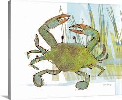 100 Robbin Rawlings Coastal Crab In Marsh