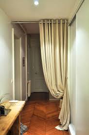 rideau de séparation pour couloir d entrée atelier secrea