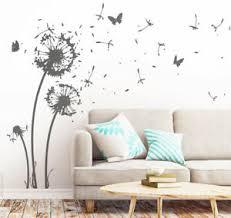 details zu wandtattoo pusteblume schmetterling wohnzimmer schlafzimmer aufkleber w311e