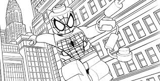 Lego Marvel Coloring Pages Printable For Kids And Superheroes