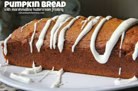 Libbys Pumpkin Bread Mix Directions by Pumpkin Bread With Marshmallow Buttercream Frosting Mix And