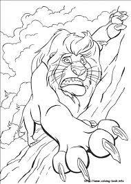Gallery Of Fascinating Lion King Coloring Pages Pages27Jpg Peruclass Regarding Printable