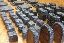 3d Dungeon Tiles Uk by Quickquests 3d Dungeon Tiles Quickquests On Pinterest