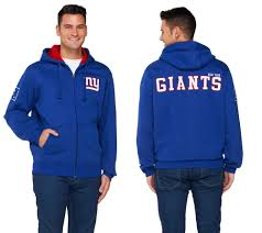 nfl team colors fully lined sherpa zip up hoodie page 1 u2014 qvc com