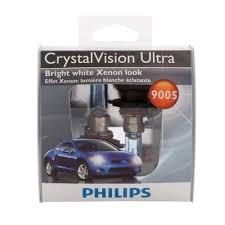 philips crystalvsion ultra 9005 headlight bulb 2 pack 9005cvs2