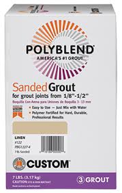 Tilelab Grout And Tile Sealer Sds by Polyblend Sanded Grout Custom Building Products