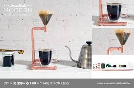 HomeMade Modern DIY Copper Pour Over Coffee Maker