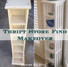 CD Rack Makeover With DIY Chalk Paint