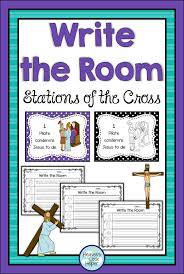 Catholic Stations Of The Cross Write Room For Lent
