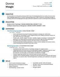 Marketing Resume Templates Rare Creative Free Objective For Fresher 1920