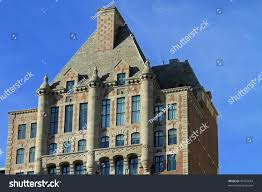 100 The Penthouse Chicago Dramatic Architecture On Upscale Vintage Stock Photo Edit