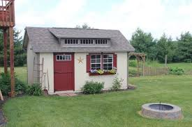 amish built sheds mini barns cabins in indiana hostetler s