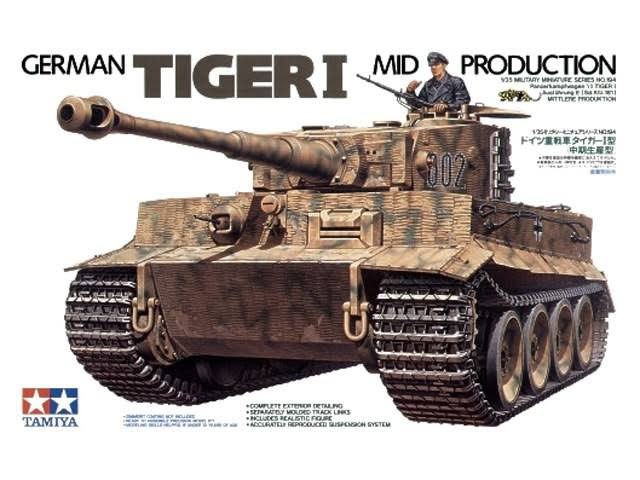 35194 1/35 German Tiger I Mid Production