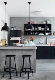 Love The Subtle Colour Palette In This Gorgeous Concrete Kitchen Soft Pink Tangerine Pastel Yellow Violet Black White And GreyPhoto Marco Antonio