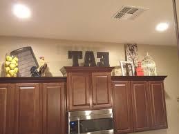 sunny kitchen soffit decorating ideas