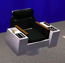 Star Trek Captains Chair by Mod The Sims Star Trek Tos Captains Chair Update