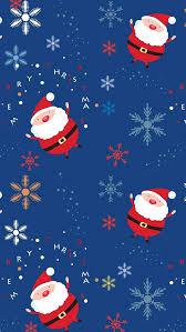 Santa claus pattern iPhone 5s Wallpaper Download