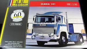 100 Plastic Truck Model Kits Scania 141 Gervais Heller Carmodelkitcom
