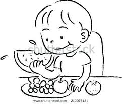 Lunch Box Clipart Black And White Awesome Clip Art Grocery Store Employee Counter
