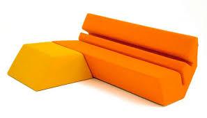 canape mousse canapé design original en mousse de polyuréthane 2 places