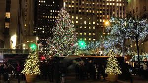 Christmas Tree Rockefeller Center 2018 by Eine Minute New York Der Weihnachtsbaum Am Rockefeller Center