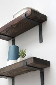 Make Your Own Barn Wood Shelf In Just A Few Steps